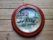 Days of Splendor Plate Farmland Memories Mort Kunstler John Deere Tractor