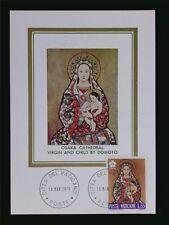 VATICAN MK 1970 EXPO JAPAN MADONNA MAXIMUMKARTE CARTE MAXIMUM CARD MC CM c6301
