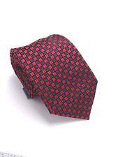 $105 Sean John Men Necktie Skinny Black White Red Check Dress Neck Tie 60x3.25