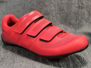Pearl Izumi Quest Road Cycling Shoes Atomic Red Women's Size EU 39