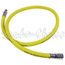 """Scuba Choice Diving Dive 36"""" 350 PSI Yellow LP Low Pressure Regulator Hose"""