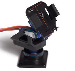 Servo bracket PT Pan/Tilt Camera Platform Anti-Vibration Camera Mount for Aircra