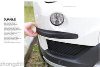 Pair Car Anti-collision Sticker Corner Body Guard Strip Front Bumper Protector