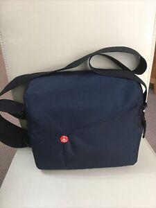 Manfrotto navy blue camera case/ camera bag