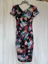 Amy Childs Ladies Floral Print Midi Dress Size 8