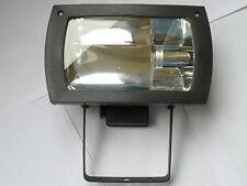 CFL Floodlight 23W = 120W 1371Lm IP44 Outside Light Energy Saving Black