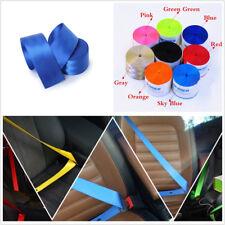 Polyeste Fiber 3.6m Dark Blue Car 3-Point Seat Belt Harness Race Safety Seatbelt