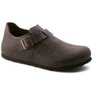 Birkenstock London Regular Fit Mens Womens  Brown Clogs Shoes Size 4-11.5