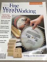 Taunton Fine Wood Working Magazine Vintage April 2002 Home Building Hardware