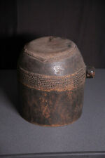 african afrique tribal art congo tabwa drum VERY OLD