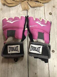 Everlast Evergel Women's Medium Pink Hand Wraps