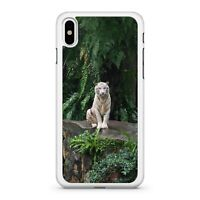 Majestic Snow White Tremendous Ultra Powerful Tiger Animal 2D Phone Case Cover