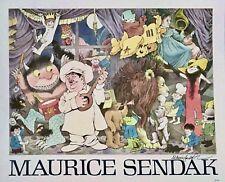 MAURICE SENDAK ~ CELEBRATION OF MAURICE SENDAK, ORIGINAL SIGNED POSTER