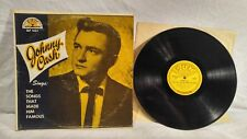 VINYL LP RECORD ALBUM JOHNNY CASH SINGS THE SONGS THAT MADE HIM FAMOUS