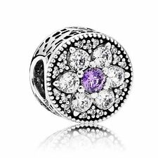PANDORA Sterling Silver Forget Me Not Charm 791832ACZ