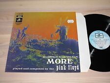 PINK FLOYD LP-COLONNA SONORA from the film more/French Columbia Press in MINT
