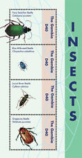 Gambia 2012 - Insects Sheet of 4  MNH