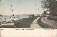 Greenport, NEW YORK - Sterling Street - Suffolk County - LI - sail boats