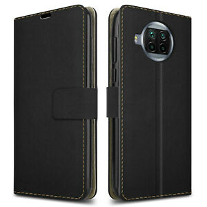Wallet Phone Case for Xiaomi Mi 10T Lite 5G black