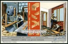 Woodworking Machinery And Wood Joinery 60 Y/O Trade Ad Card
