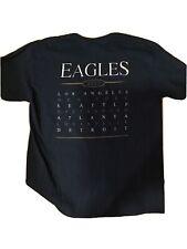 Eagles Tour 2017 Concert t-shirt pop Rock band Size Large