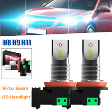H8 H9 H11 Car LED Headlight Conversion Kit Bulbs 30000LM 6000K White Hi/Lo Beam