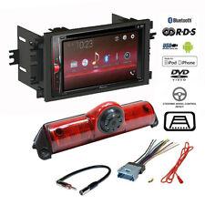 Pioneer Double DIN Bluetooth USB Radio+Backup Camera+Chevy Express Van Dash Kit