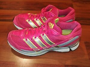 Adidas Adizero Sonic 2 U41690 Womens Running Training Shoes Pink Yellow Size 8