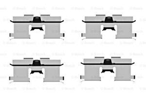 BOSCH Disc Brake Pads Accessory Kit SET Fits CHEVROLET Nubira DAEWOO 2003-