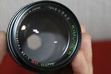 RICOH Mount Kimunor 135 mm F2.8 primo/RITRATTO auto lente completamente funzionante