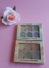 Metal  Liquid Eyeshadow palette Okalan