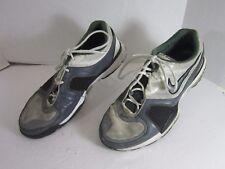 Men's NIKE AIR MAX EDGE Size 13 green/gray/white Training Running Shoes