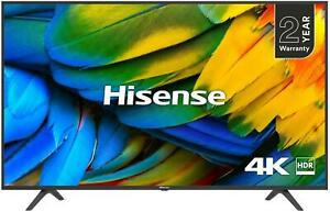 "Hisense H55B7100UK 55"" 4K Ultra HD HDR Smart TV with Freeview Play"
