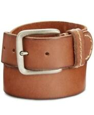 Levi's Men's Hand-Laced Leather Belt (Brown, XL)