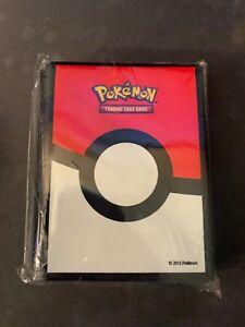 Pokemon TCG Deck Protector Card Sleeves 65ct Poke Ball New