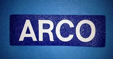 Vintage ARCO Gas Oil Hat Jacket Uniform Shirt Patch Crest C