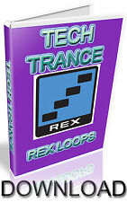 TECH TRANCE REX LOOPS - REASON REFILL - CUBASE - PRO TOOLS - LOGIC - ABLETON