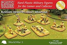 Plastic Soldier - PSC WW2 020004-7204 WWII Russian Heavy Weapons