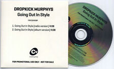 DROPKICK MURPHYS Going Out In Style UK 2-trk promo CD radio/album versions