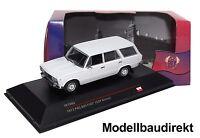 Polski Fiat 125P Kombi in Hellgrau Bj 1973 1:43 IXO / IST 082 Cars & Co NEU & OV