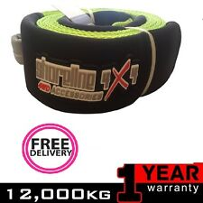 TREE TRUNK PROTECTOR 12000kg 12Ton 4x4 Recovery 3mx75mm WINCH RECOVERY GEAR