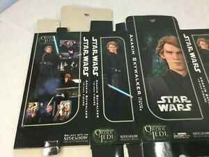 "Sideshow Star Wars Anakin Skywalker 12"" Figure Order of the Jedi BOX Only"