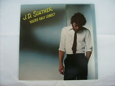 J.D. SOUTHER - YOU'RE ONLY LONELY - LP VINYL EXCELLENT CONDITION 1979 U.S.A.
