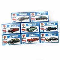 8 Stück 1/87 4d Dehnbar Limousines Neuer Modell Bausatz Chevrolet Hummer Sorten