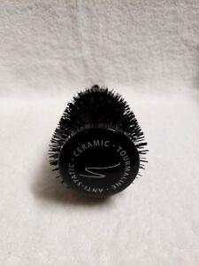 Spornette - The midnight Collection, Round Tourmaline Ceramic Hair Brush # 833