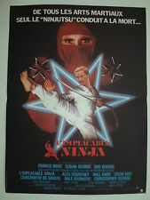 L ' IMPLACABLE NINJA affiche cinéma ORIGINALE 1981 Franco NERO