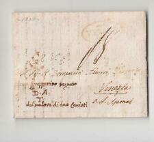 1808 lettera MILANO-VENEZIA spedita da VERONA con gruppettino del valore 2-g232