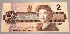 1986 Bank of Canada $2 - Uncirculated Radar Serial Number - BC-55b