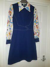 Vintage 60s Dress  MOD Dress 8 10 used
