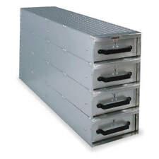 CRESCENT JOBOX 1409980 Truck/Van Door Storage Tray,4 drawers
